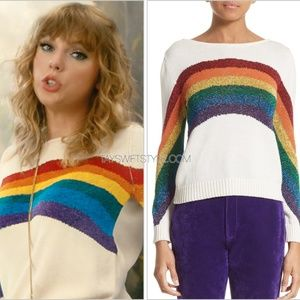 Marc Jacobs Rainbow Sweater ASO Taylor Swift, M